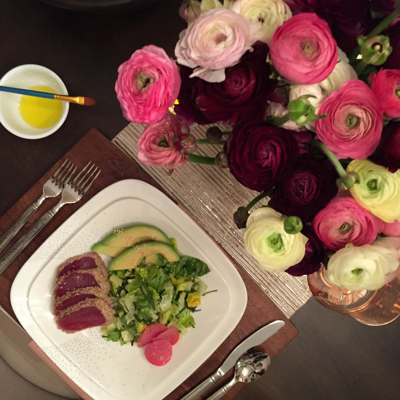 3) Seared Tuna on Market Street New York Corelle ™: